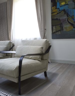 Oak floorboard AQUA, color 3408 White