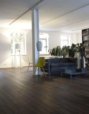 Studio Casa. Medžio stilius medinės grindys. Rustikas, spalva 3490 Juodmedis