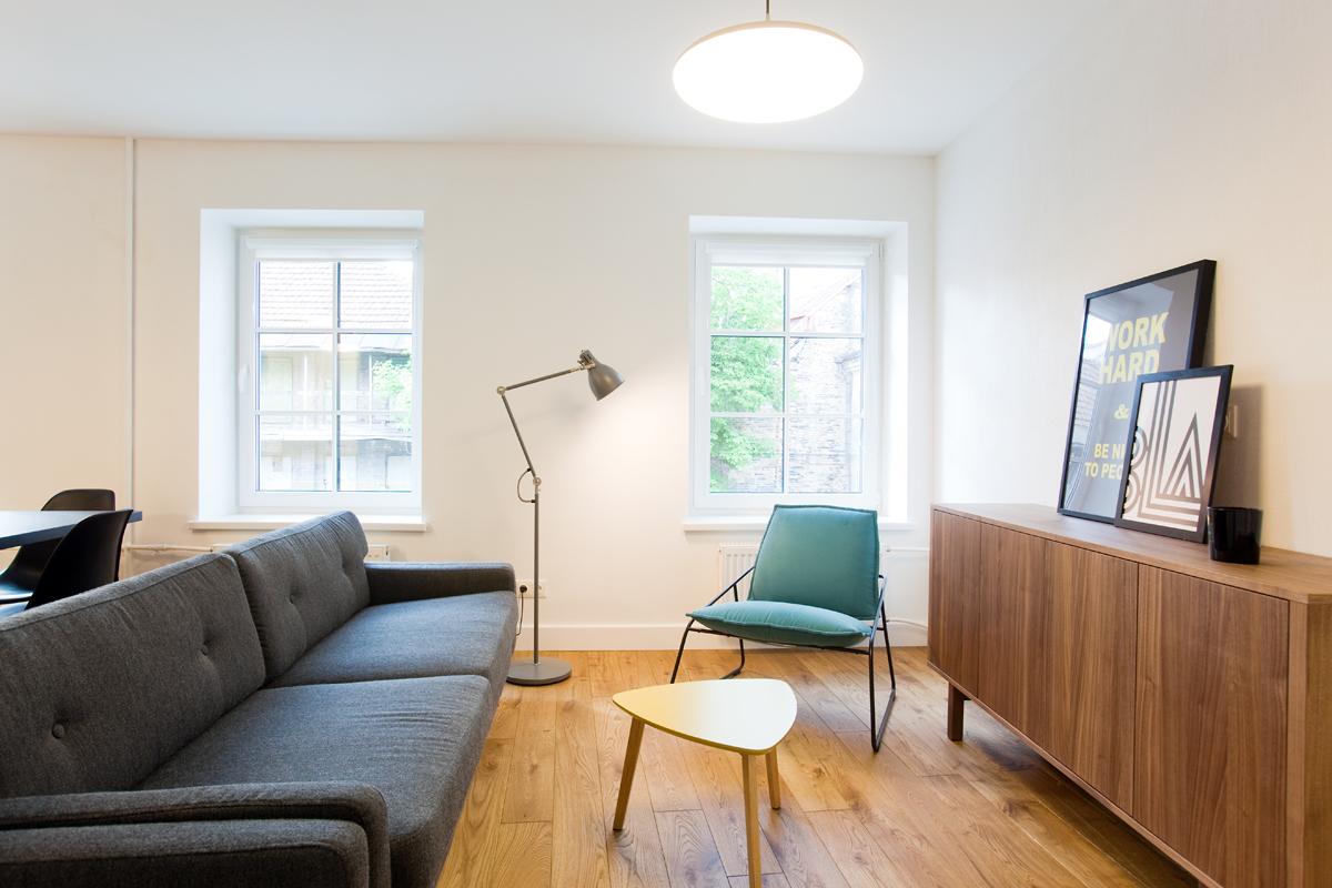 Oak floorboard, oiled 3305 Colorless oil. Architecture studio ARKKITEHTI