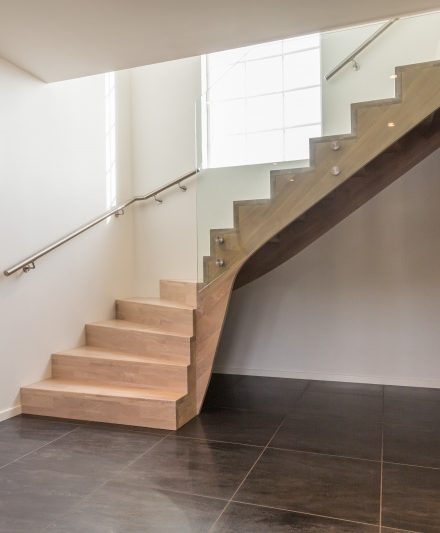 Oak stairs. Norway. Project no. 58