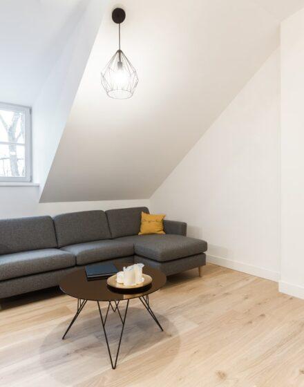 Oak flooring: 3408 Extra white color.